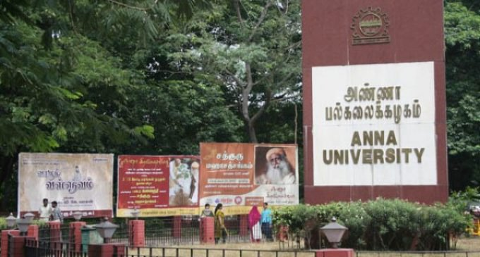 Anna University to offer UG courses at all campuses