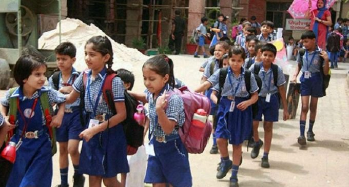 Gurugram: All government Schools will close by 1.30pm from May 25 due to continuous heat wave in the city.