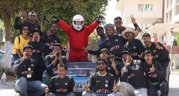Electric Solar Vehicle Championship 2019 – A.P.Shah Institute of Technology bagged 3 Prizes