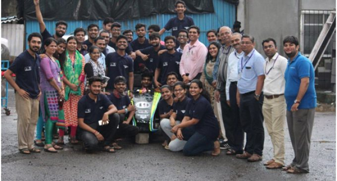 Supra SAE India Formula 2019 MGM College bagged 1st place