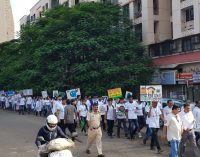 A.P. Shah Institute of Technology, Organised  Walkathon rally against the use of plastic.