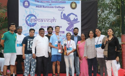 """Samavesh- the Mini Marathon by NES<span class=""""rating-result after_title mr-filter rating-result-5047""""><span class=""""no-rating-results-text"""">Your rating was 80%</span></span>"""