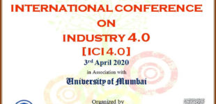 Online International Conference on Industry 4.0